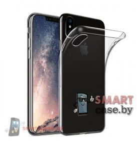 Силиконовый чехол для iPhone XR (прозрачный)