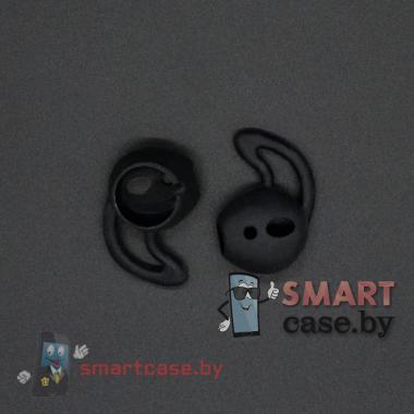 Анатомические насадки для Apple Airpods (Чёрные)