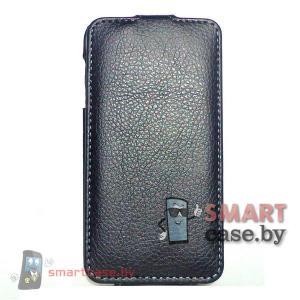 Чехол флип для Samsung Galaxy S5 mini iCon Style (черный)