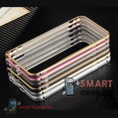 Алюминиевый бампер для iPhone 6 TOTU (серебро)