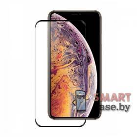 Защитное стекло с сеточкой для iPhone X/XS 9H, 5D (прозрачное)