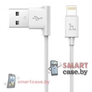 Дата-кабель USB для зарядки и синхронизации Apple Lightning HOCO UPL11 120см (Белый)