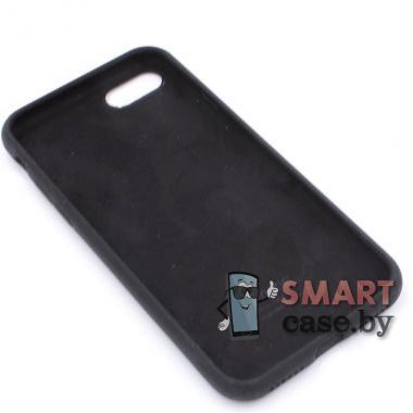 Силиконовый чехол для iPhone 7/8 Full Silicone Case (черный)