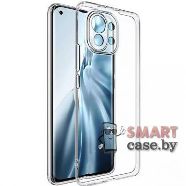 Силиконовый чехол для Xiaomi Mi 11 Lite New Case (Прозрачный)