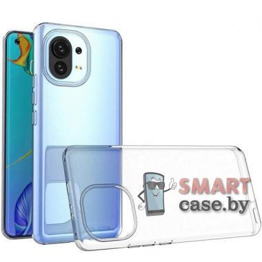 Силиконовый чехол для Xiaomi Mi 11 New Case (Прозрачный)