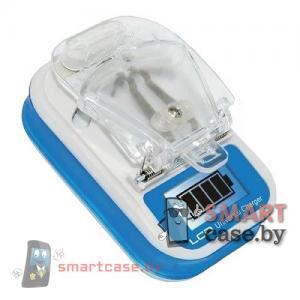 Универсальное зарядное устройство для АКБ телефонов (Лягушка) + USB + Дисплей