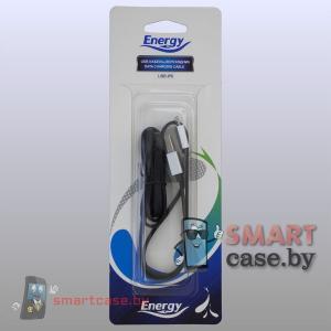 Кабель USB - Apple Lightning Energy UDC-622 (100 см черный)
