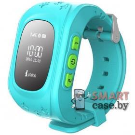 Детские смарт телефон-часы с GPS трекером Smart Watch GW300 (Бирюза)