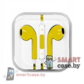 Наушники Apple Earpods AAA Copy (желтые)