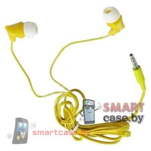 Наушники вакуумные Smartbuy Junior (Желтые)