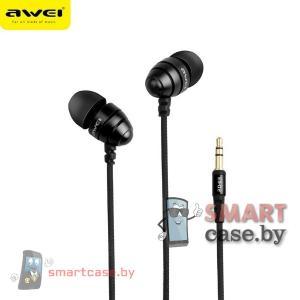Наушники Awei ES-Q2 (черные)