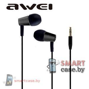 Наушники Awei ES-Q7 (черные)