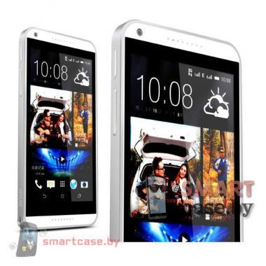 Бампер для HTC Desire 816 алюминиевый Love Mei (металлик)