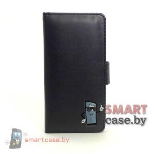 Чехол кошелек для HTC mini Mercury (черный)