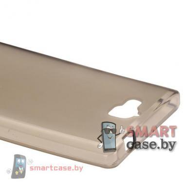 Силиконовый чехол для Huawei Honor 3C (коричневый)