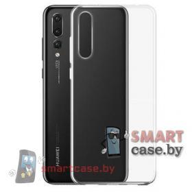 Силиконовый чехол для Huawei P20 Pro прозрачный