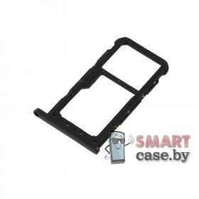 Лоток SIM для Huawei P20 Lite OEM (Черный)