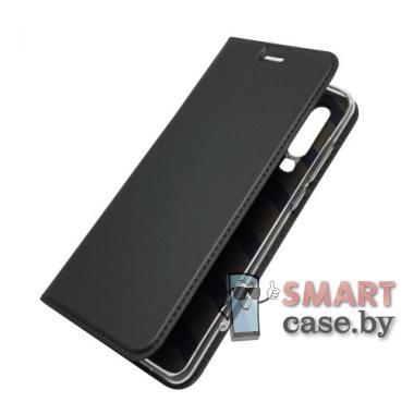 Антимаркий чехол-книжка для Huawei P30 PU-кожа (чёрный)