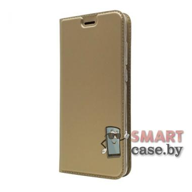 Антимаркий чехол-книжка для Huawei P30 PU-кожа (золотой)