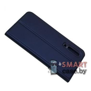 Антимаркий чехол-книжка для Huawei P30 PU-кожа (синий)