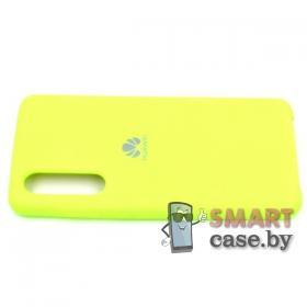 Силиконовый чехол Silicone Cover для Huawei P30 (Салатовый)