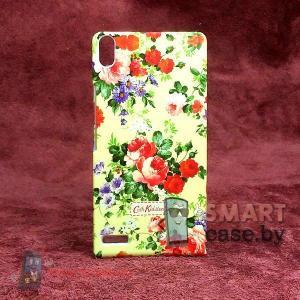 Чехол - накладка для Huawei Ascend P6 Cath Kidston (цветы)