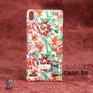 Чехол - накладка для Huawei Ascend P6 Cath Kidston (яркие цветы)