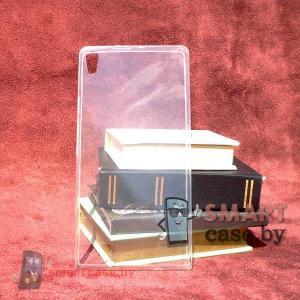 Ультратонкий силиконовый чехол для Huawei Ascend P6 (прозрачный)