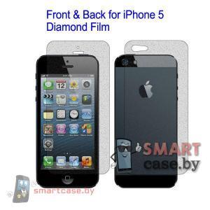 Передняя и задняя пленка для iPhone 5 антиблик