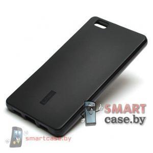 Чехол для Huawei Ascend P8 силиконовый Cherry (черный)