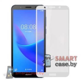 Защитное стекло для Huawei Y5 Prime 2018, Honor 7A (Белое)