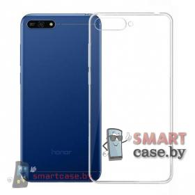Чехол -накладка для Huawei Y6 Prime 2018 (прозрачный)