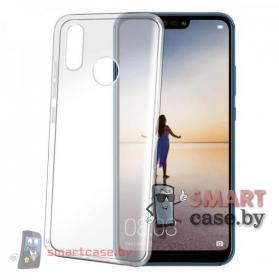 Чехол силиконовый для Huawei P Smart 2019, Honor 10 lite (прозрачный)