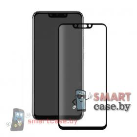 Защитное стекло для Huawei Mate 20 Lite 9H на весь экран (Черный)