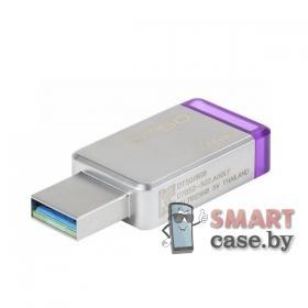 Карта памяти Kingston USB 32GB 10 class (фиолетовая)