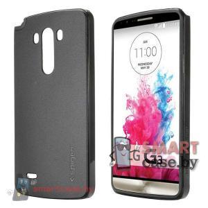 Чехол + бампер для LG G3 от SGP (черный)