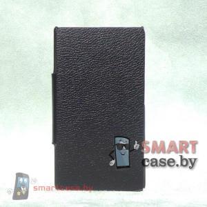 Чехол книжка для Nokia Lumia 1020 Armor (Черный)