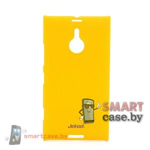 Пластиковый чехол для Nokia Lumia 1520 Jekod (желтый)