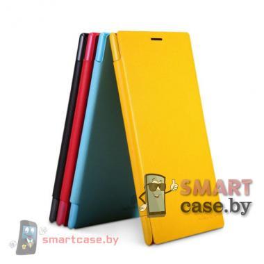 Чехол для Nokia Lumia 1520 магнитная застежка Nillkin (желтый)