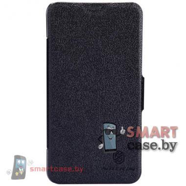 Чехол для Nokia Lumia 630 магнитная застежка Nillkin (черный)