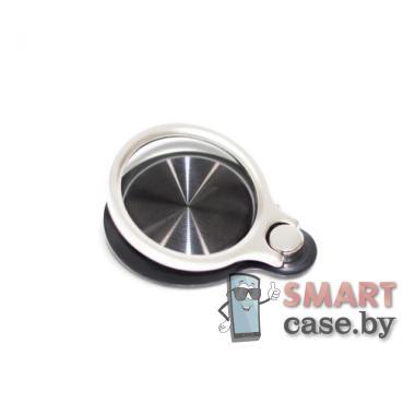 Кольцо держатель для телефона + подставка 5556 (чёрное)
