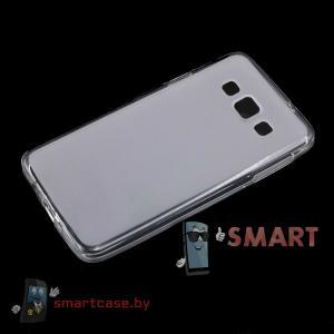 Чехол для Samsung Galaxy A3 силиконовый (прозрачный матовый)