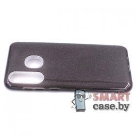 Силиконовый чехол для Samsung Galaxy A30 3в1 (Чёрный)