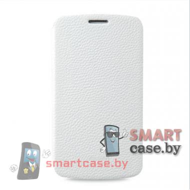 Чехол книга для Samsung Galaxy Grand 2 (Duos G7102) кожаный SIPO (Белый)