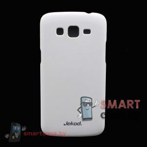 Чехол-накладка для Samsung Galaxy Grand 2 Jekod (Белый)