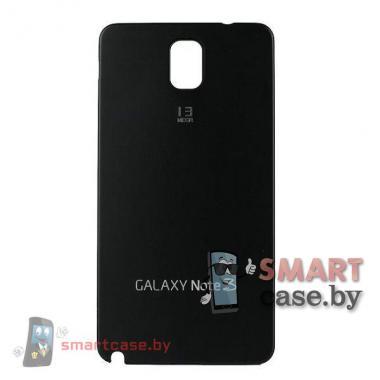 Задняя крышка для Samsung Galaxy Note 3 алюминиевая (черная)