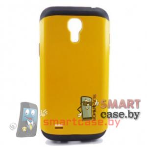 Чехол для Samsung Galaxy S4 mini гибридный Slim Armor  (Желтый)
