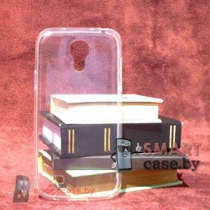 Ультратонкий чехол для Samsung Galaxy S4 mini силиконовый 0,5 мм (прозрачный)