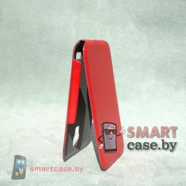 Ультратонкий чехол для Samsung Galaxy S4 mini Slim Case (красный)
