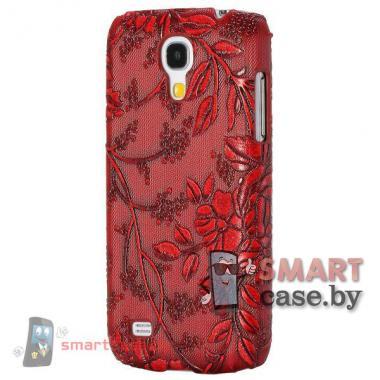 Чехол для Samsung Galaxy S4 mini Grape Vine (Бордовый)